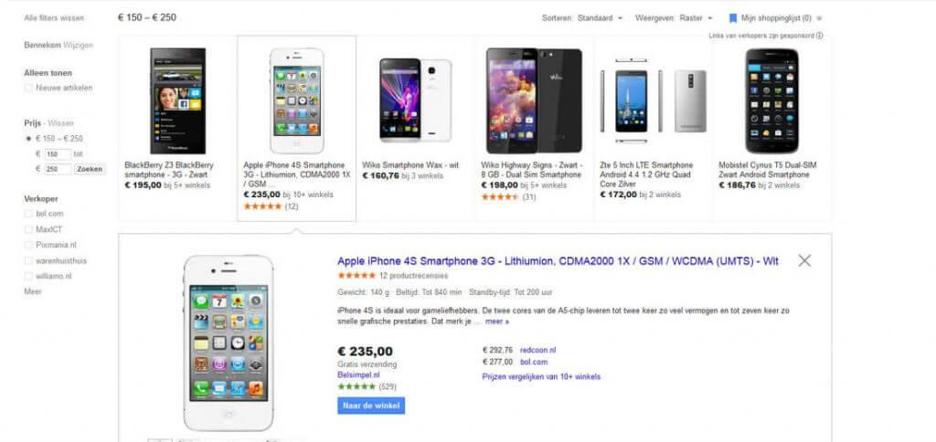 Verhoog uw omzet met Google Shopping