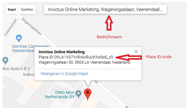 URL maken en versturen naar klanten om een Google recensie te ontvangen