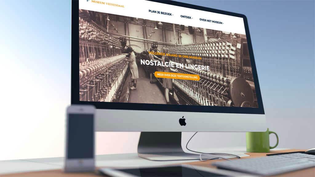 Nieuwe professionele website voor Museum Veenendaal