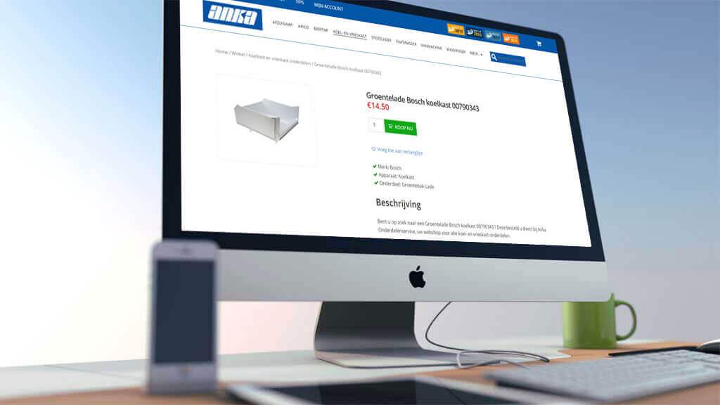 Omzetgroei Anka Onderdelen Service met slechts 1 tool