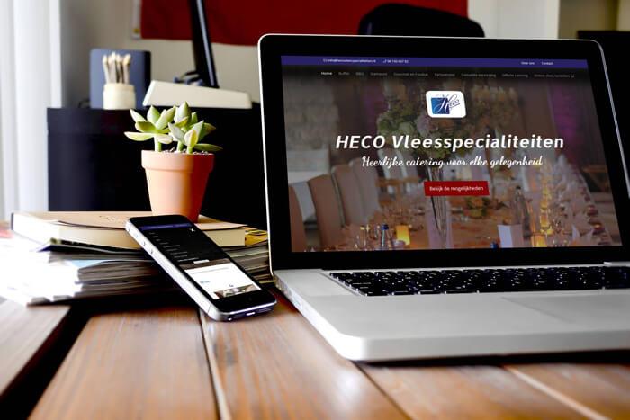 Nieuwe website voor HECO Vleespecialiteiten